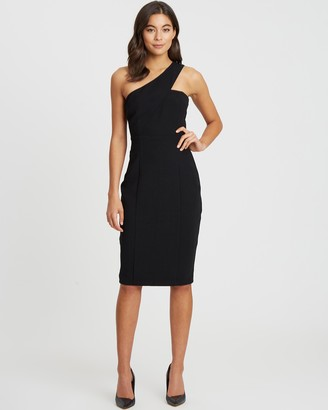 Willa Marilyn One-Shouldered Dress