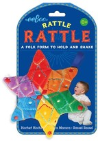 Eeboo Infant Star Rattle