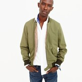 J.Crew Wallace & Barnes garment-dyed cotton MA-1 bomber jacket