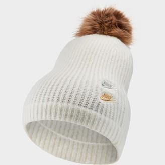 Nike Women's Sportswear Pom Knit Beanie Hat