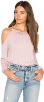 Krisa Cold Shoulder Top