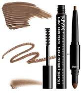 NYX (6 Pack 3-In-1 Brow Pencil - Soft