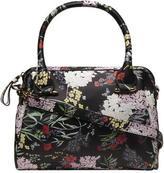 Dorothy Perkins Floral slouch mini bowler bag