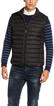 Geox Men's Man Down Jacket Schwarz (Black/Atlantic F9046), (Size: 58)