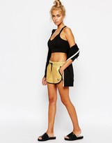 Puma Gold Collection Metallic Mini Athlectic Shorts