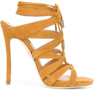DSQUARED2 strappy wrap-tie sandals