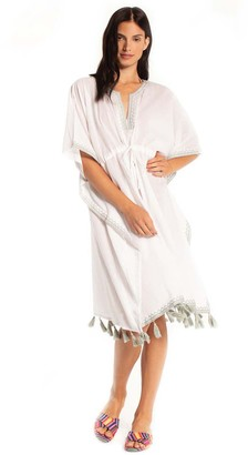 Synergy Fringe Detail Cover-Up Dress