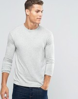 Benetton Viscose Mix Crew Neck Jumper