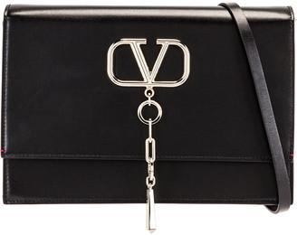Valentino VCase Shoulder Bag in Black | FWRD