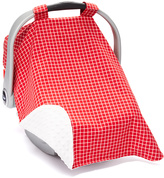 Red Plaid Car Seat Cover