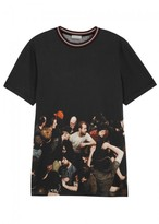 Dior Homme Printed Cotton T-shirt