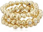 Karen Kane Summer Solstice Gold Tone Stackable Ring, Size 7