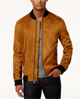 INC International Concepts Men's Zander Faux Suede Bomber Jacket, Created for Macy's