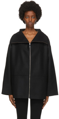 Totême Black Wool Menfi Jacket