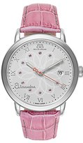 88 Rue du Rhone Women's 87WA140019 Alexandra Diamond-Accented Watch with Pink Leather Band