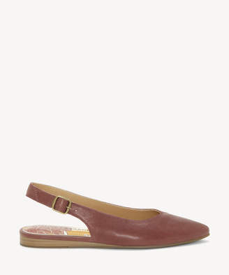 Lucky Brand Women's Beratan Slingback Pointed Toe Flats Burgundy Size 5 From Sole Society