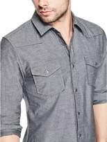 GUESS Western Slim Denim Shirt
