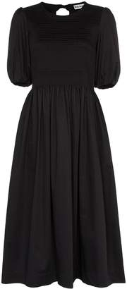 Molly Goddard Rory pouf sleeve midi dress