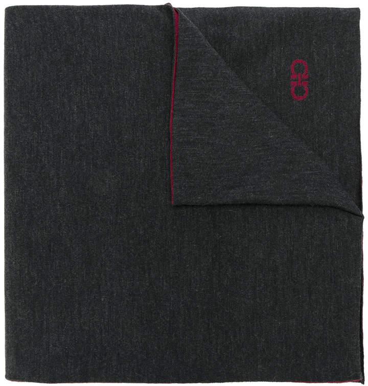 Salvatore Ferragamo classic knitted scarf