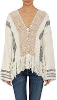 Ulla Johnson Women's Isolda Poncho Sweater-NUDE