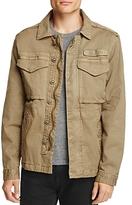 Jachs Ny Herringbone Twill Field Jacket