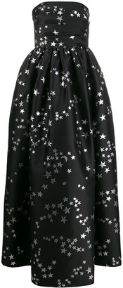 P.A.R.O.S.H. Postard strapless evening gown