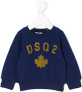 DSQUARED2 graphic printed sweatshirt - kids - Cotton - 3 mth