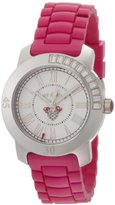 Juicy Couture Women's 1900545 BFF Hot Pink Jelly Strap Watch