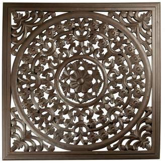 """St. Croix 12"""" Brown Solaris VII Wooden Wall Panel"""
