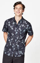 Ezekiel Night Short Sleeve Button Up Shirt