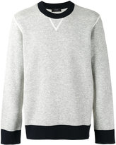 Joseph contrast trim sweatshirt - men - Polyamide/Spandex/Elastane/Viscose/Wool - S