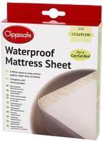 BabyCenter Clippasafe Waterproof Mattress Sheet Medium