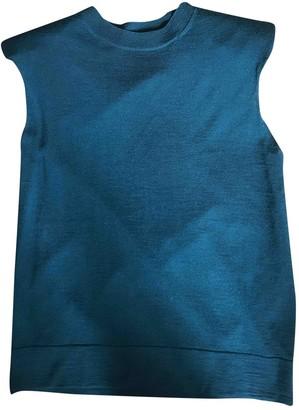 Dries Van Noten Green Wool Top for Women