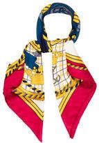 Hermes Grande Tenue Silk Scarf
