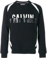 Calvin Klein Jeans logo sweatshirt - men - Cotton/Spandex/Elastane - S