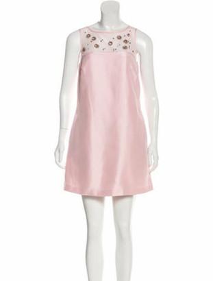 Marchesa Sleeveless Mini Dress w/ Tags Pink