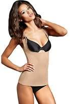 Flexees Maidenform Women's Shapewear Wear Your Own Bra Torsette with Wide Straps