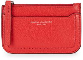 Marc Jacobs Textured Leather Key Pouch