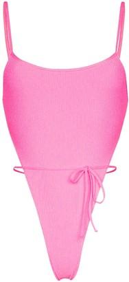 Frankie's Bikinis Croft tie-waist swimsuit