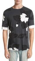 3.1 Phillip Lim Men's Double Sleeve Floral T-Shirt