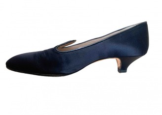 Manolo Blahnik Black Cloth Ballet flats