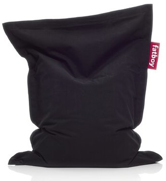 Fatboy Junior 100% Cotton Bean Bag Chair & Lounger Upholstery: Black