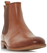 Dune Montpelier Round Toe Leather Chelsea Boots