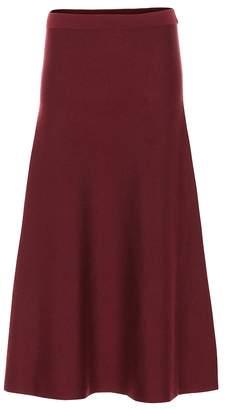 Gabriela Hearst Freddie wool-blend maxi skirt