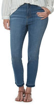 Chaps Plus Stretch-Denim Capri Pants