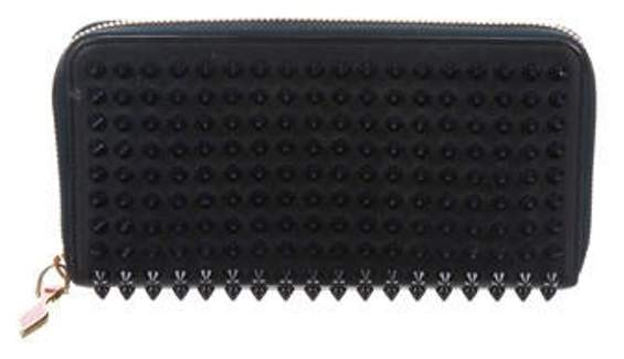 Studded Panettone Wallet Navy Studded Panettone Wallet