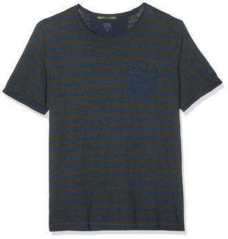 Camel Active Men's Stripe Ts T-Shirt
