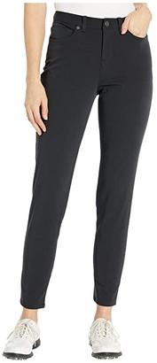 Nike Fairway Jean Pants Slim (Black/Black) Women's Jeans