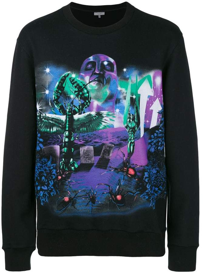Lanvin Planet Scene print sweatshirt