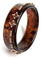 Skinny Tortoise Jeweled Bracelet